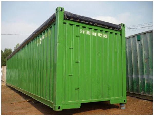 Container mở nóc (opentop) 40 feet